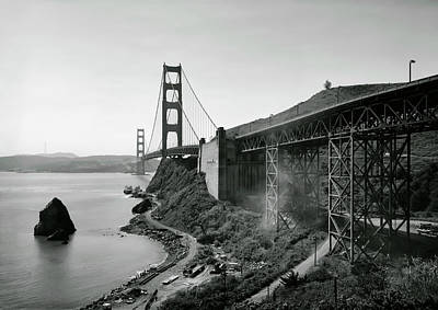 Photograph - Vintage Golden Gate by Daniel Hagerman