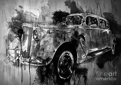 Photograph - Vintage Grunge Motor by Jack Torcello