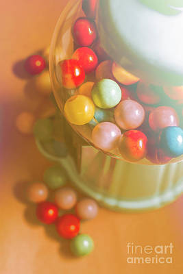 Vintage Gum Ball Candy Dispenser Print by Jorgo Photography - Wall Art Gallery