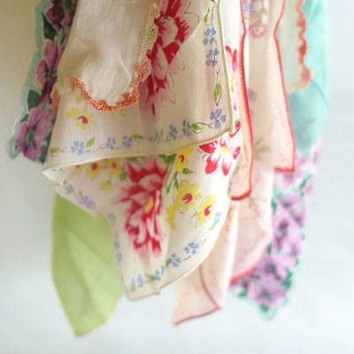 Photograph - Vintage Hankies by Colleen VT