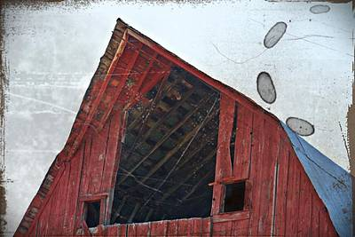 Photograph - Vintage Hay Loft- Fine Art by KayeCee Spain