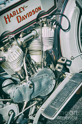 Photograph - Vintage Hd 11f by Tim Gainey
