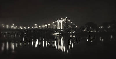 Photograph - Vintage Hennepin Bridge by Heidi Hermes