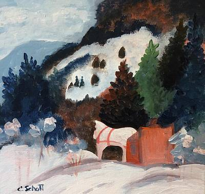 Painting - Vintage Holiday by Christina Schott