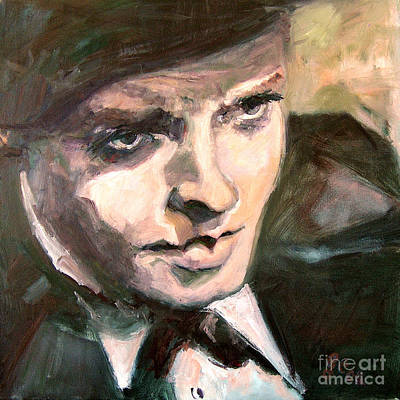 Painting - Vintage Hollywood Orson Welles by Ginette Callaway