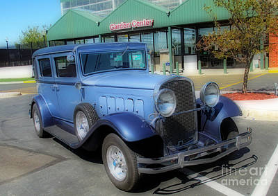 Photograph - Vintage Hudson Automobile by Kay Novy
