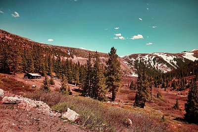 Photograph - Vintage Independence Pass by Judy Vincent