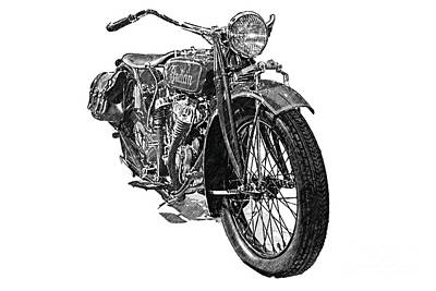 Photograph - Vintage Indian by Tom Griffithe