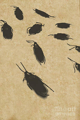 Vintage Infestation Art Print