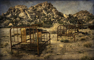 Digital Art - Vintage Iron Beds by Sandra Selle Rodriguez