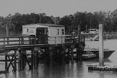 Photograph - Vintage Isle Of Palms Dock On The Icw by Dale Powell