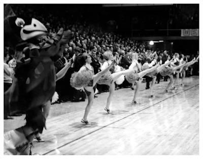 Photograph - Vintage Isu Cheerleaders by Kyle J West