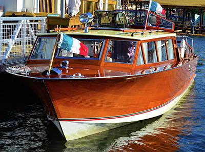 Photograph - Vintage Italian Boat by David Lee Thompson