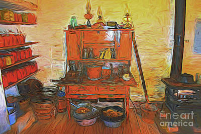 Photograph - Vintage Kitchen 11318 by Ray Shrewsberry