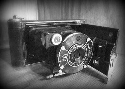 Photograph - Vintage Kodak Camera by Cindy Wright