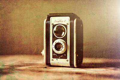 Vintage Camera Mixed Media - Vintage Kodak Camera by Dan Sproul