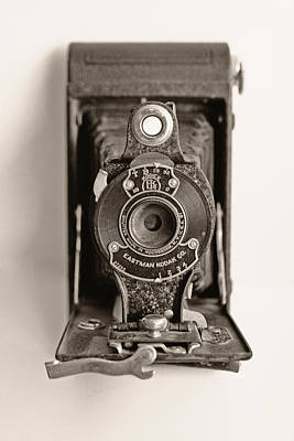 Vintage Kodak Camera Print by Tony Grider