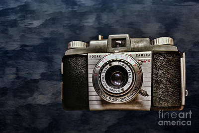 Photograph - Vintage Kodak Model B by Steven Parker