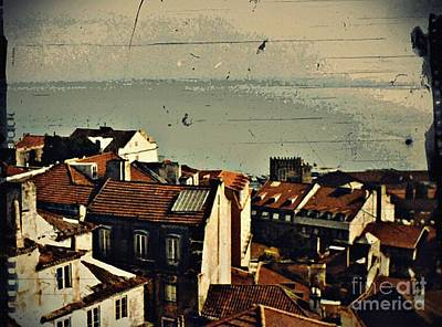 Photograph - Vintage Lisboa by Sarah Loft