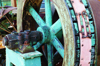 Photograph - Vintage Machinery 16 by Bob Christopher