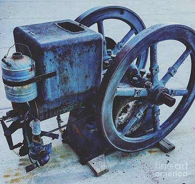 Painting - Vintage Machinery by Gregory Dyer