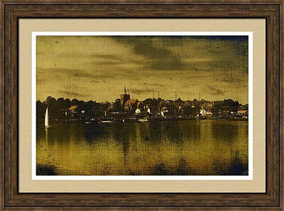 Photograph - Vintage Maldon Framed Print by Fine Art By Andrew David