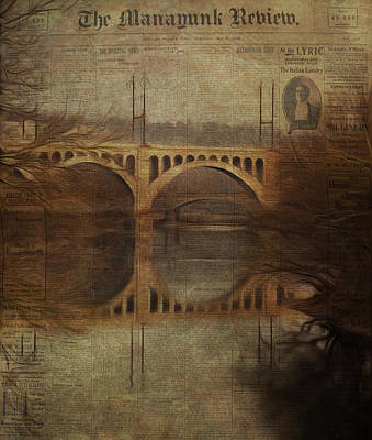 Vintage Manayunk Review Art Print by Bill Cannon