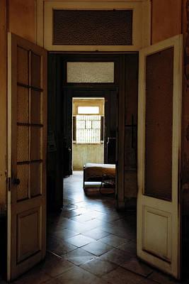 Door Photograph - Vintage Mansion Havana Cuba II by Joan Carroll