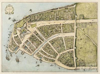 Vintage Map Of Manhattan Original by John Malone
