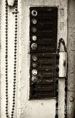 Photograph - Vintage Mardi Gras Beads by John Rizzuto