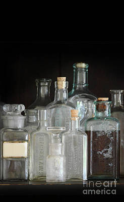 Photograph - Vintage Medicine Bottles by Jill Battaglia