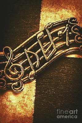 Musicians Photos - Vintage melody by Jorgo Photography - Wall Art Gallery