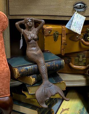 Photograph - Vintage Mermaid by Denise McKay