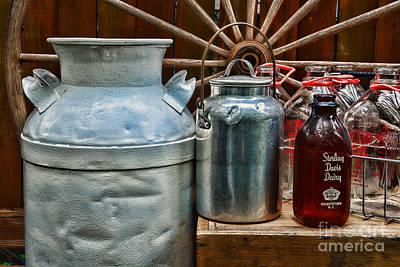 Got Milk Photograph - Vintage Milk by Paul Ward