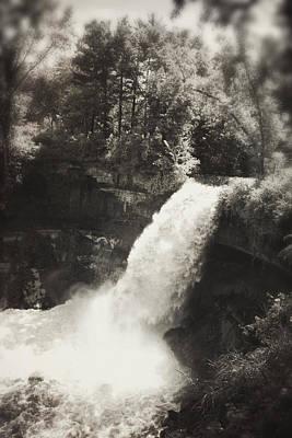 Photograph - Vintage Minnehaha Falls by Heidi Hermes