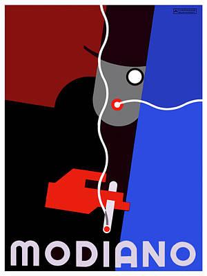 Cigarette Ads Digital Art - Vintage Modiano by Tom Prendergast