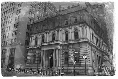 Photograph - Vintage Molsons Bank Old Montreal Canada by Nina Silver
