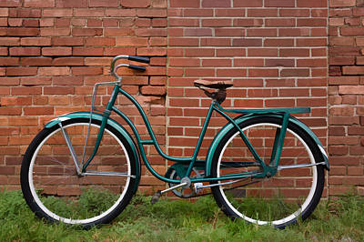 Photograph - Vintage Montgomery Ward Bicycle 2 by Greg Jackson