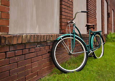 Photograph - Vintage Montgomery Ward Bicycle 3 by Greg Jackson