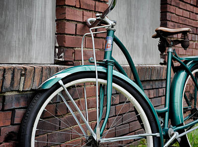 Photograph - Vintage Montgomery Ward Bicycle 5 by Greg Jackson