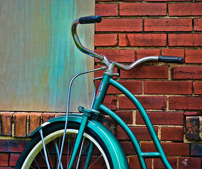 Photograph - Vintage Montgomery Ward Bicycle 6 by Greg Jackson