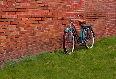 Photograph - Vintage Montgomery Ward Bicycle by Greg Jackson