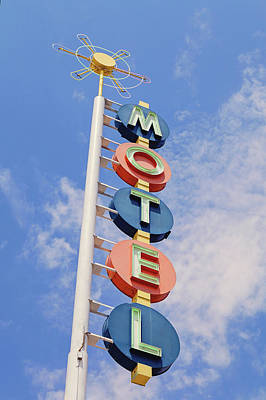 Photograph - Vintage Motel by Melanie Alexandra Price