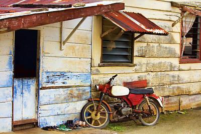 Photograph - Vintage Motorbike by Nadia Sanowar