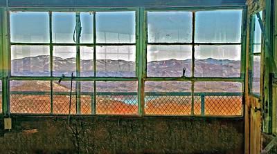 Photograph - Vintage Mountain View by Susan Leggett