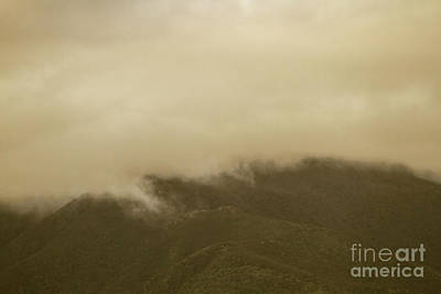 Mountainous Photograph - Vintage Mountains Covered By Cloud by Jorgo Photography - Wall Art Gallery