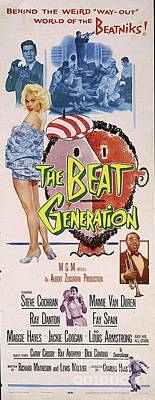 Surrealism Royalty-Free and Rights-Managed Images - Vintage Movie Posters, The Beat Generation by Esoterica Art Agency