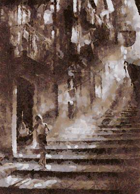 Vintage Napoli Art Print