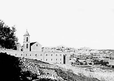 Photograph - Vintage Nativity Church by Munir Alawi