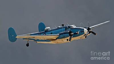 Planes Of Fame Photograph - Vintage Naval Twin With Proptip Vortices 2011 Chino Planes Of Fame Air Show by Gus McCrea